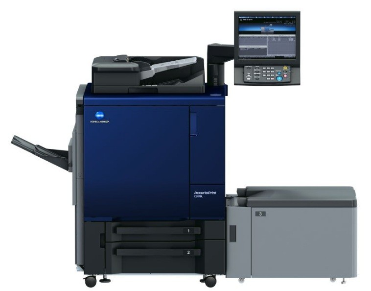 Новая ЦПМ Konica Minolta AccurioPrint C3070L в нашей типографии